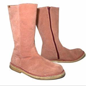 Camper Calf Zip Boots